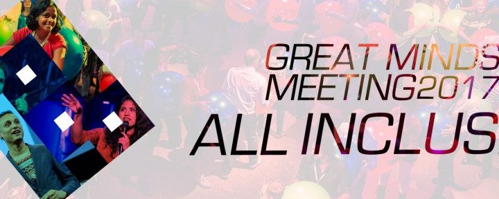 4 september Great Minds Meeting 2017